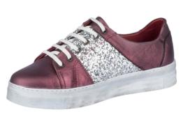 Andrea Conti Plateau Sneaker Schnürer