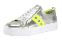 Heine Sneaker im Metallic-Look