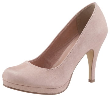High Heel Plateau Pumps Tamaris