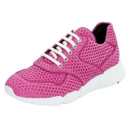 LLOYD Damenschuh mit leichtem Keil Sneakers Low pink Damen Gr. 38,5
