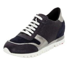 LLOYD Damenschuh mit verstecktem Keilabsatz Sneakers Low grau Damen Gr. 38,5