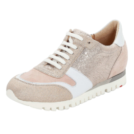 LLOYD Damenschuh mit verstecktem Keilabsatz Sneakers Low rosa Damen Gr. 42