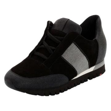 LLOYD Damenschuh mit verstecktem Keilabsatz Sneakers Low schwarz Damen Gr. 40