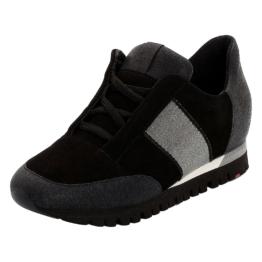 LLOYD Damenschuh mit verstecktem Keilabsatz Sneakers Low schwarz Damen Gr. 42